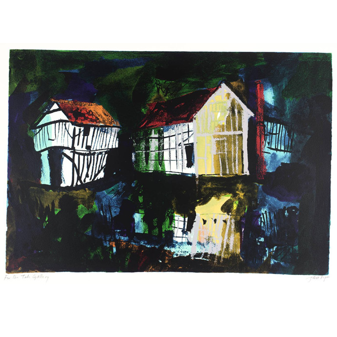 John Piper - Lower Brockhampton